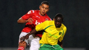 Norwich City striker Jamar Loza has joined League One Coventry City on a 28-day loan deal.