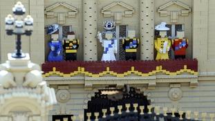 Royal lego: A Royal lego model at Legoland Windsor.