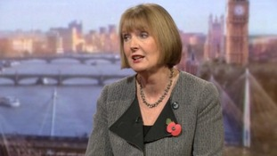 Harriet Harman played down Ed Balls' HS2 comments on the Andrew Marr Show.