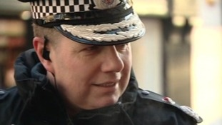 Chief Constable of Gloucestershire, Tony Melville, is joining the march