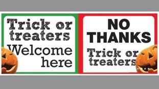 Leicestershire Police have urged people to put the appropriate sign in their front windows