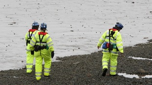 Coastguard search the coast of Belfast Lough, after a baby is believed to have fallen from a ferry.
