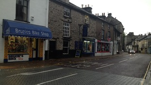 Shops in Kirkland in Kendal would also be included in the Business Improvement District.