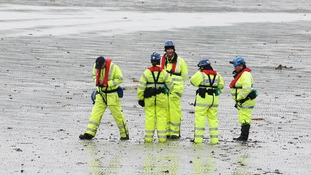 HM Coastguard search the coast of Belfast Lough