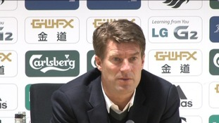 Laudrup emotional at Swans being denied a penalty