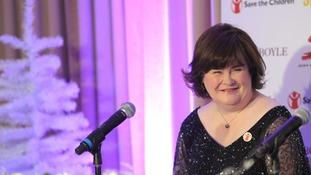 Susan Boyle's Christmas single O Come, All Ye Faithful is a digital collaboration with the late Elvis Presley.