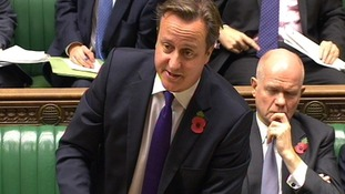 Prime Minister David Cameron makes a statement on the EU Council in the House of Commons.