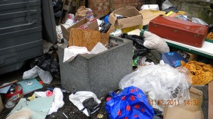 Fine for shop flytipping