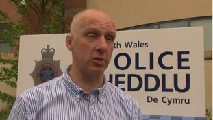 Steve Trigg, chairman of the South Wales Police Federation