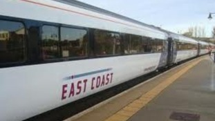 East Coast mainline train