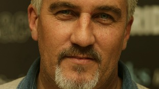 The Great British Bake Off judge Paul Hollywood.