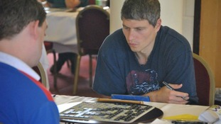 Paul Allan is preparing to battle it out at the National Scrabble Championship.