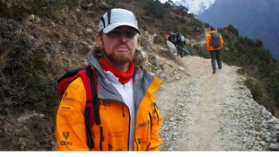 Karl Hinett on Everest expedition