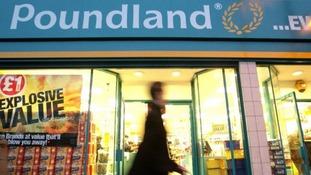 A Poundland store.