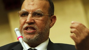 Deputy leader of the Muslim Brotherhood's Freedom and Justice party, Essam el-Erian.
