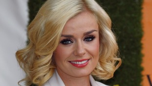 Katherine Jenkins has revealed she sleeps with her eyes open due to a condition called Nocturnal Lagophthalmos.