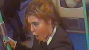 CCTV image from Docklands Light Railway