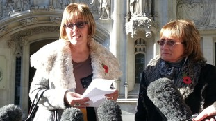 The family of David James comment outside Supreme Court following the ruling against their appeal.