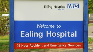 Ealing Hospital in west London