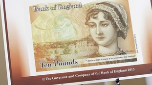 Jane Austen 'airbrushed' in new £10 notes
