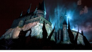Hogwarts Castle at The Wizarding World of Harry Potter at the Universal Studios