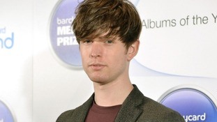 James Blake at the Barclaycard Mercury Music Prize ceremony in London