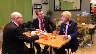 Adrian Masters interviewing Adam Price and Michael Fabricant