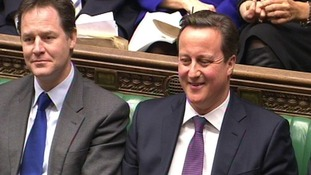 Cameron and Clegg confirm Welsh tax plans
