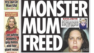 Tracey Connelly has been freed from jail, The Sun reports.