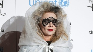 Jodie Kidd in gothic attire at the UNICEF UK Halloween Ball.