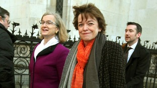 Glenys Stacey (centre), the head of exams regulator Ofqual.