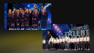 Nu Sxool and Only Boys Aloud in Britain's Got Talent Finals