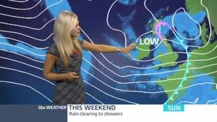 Friday evening forecast with Jo Blythe