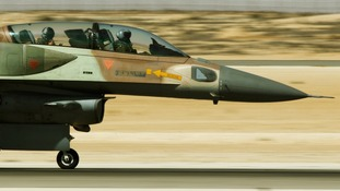 One of Israel's F-16 fighter aircraft, which would have been capable of carrying out the attack.
