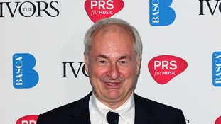 Paul Gambaccini at the Ivor Novello awards in Grosvenor House Hotel, London, this year.