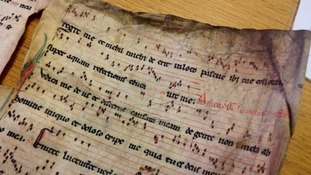 Priceless medieval music found during council clear out