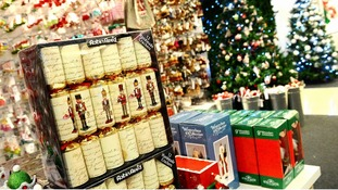 The survey suggests people will spend an average of £336 on Christmas this year.
