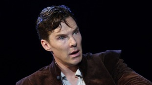 Hawking star Benedict Cumberbatch.