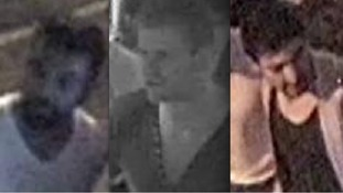 CCTV images have been released of three men wanted over an attack on a wedding party in Birmingham