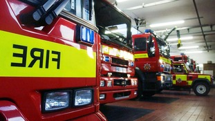 Firefighters in England and Wales will stage another strike today in their bitter row with the Government over pensions.
