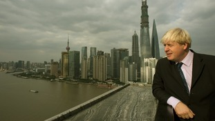 Boris Johnson in Shanghai