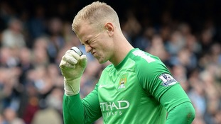 Joe Hart has been dropped from the Manchester City line-up after suffering a loss of form.