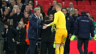 Will England manager Roy Hodgson keep Joe Hart as England's No.1 goalkeeper?