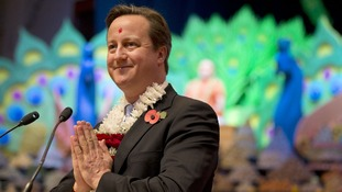 The Prime Minister also apologised for failing to wear traditional Indian clothes during the visit.