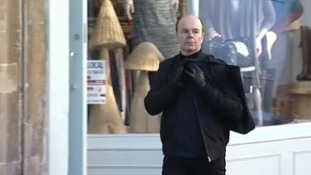 Being Human star Jason Watkins in character as Chris Jefferies.