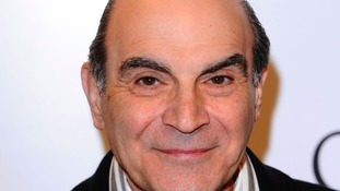 Suchet reveals how he perfected Poirot's distinct walk