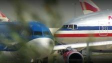 US passenger jets