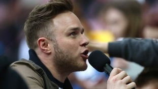 Essex singer and former X Factor runner-up Olly Murs has been hit with a speeding fine.