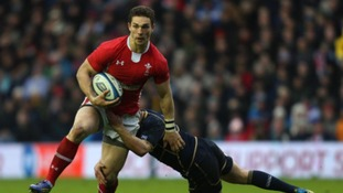 Northampton Saints winger George North has been named in the Wales side for the clash with South Africa.