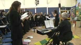 The Colchester military wives choir